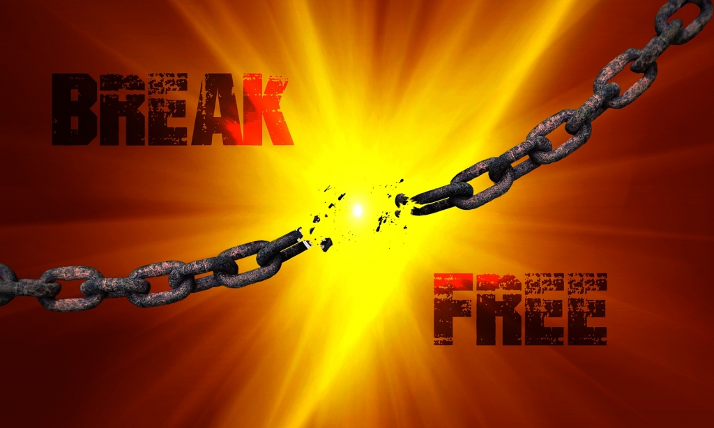break free chain from fear